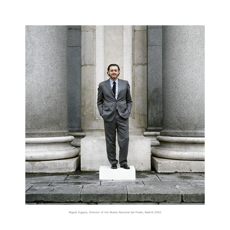 Miguel Zugaza, Director of the Museo Nacional del Prado, Madrid 2002